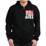 Kill The Bill Zip Hoodie (dark)