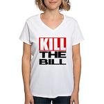Kill The Bill Women's V-Neck T-Shirt