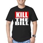 Kill The Bill Men's Fitted T-Shirt (dark)