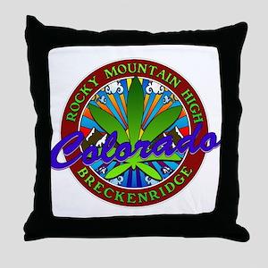 BRECKENRIDGE-COLORADO Throw Pillow