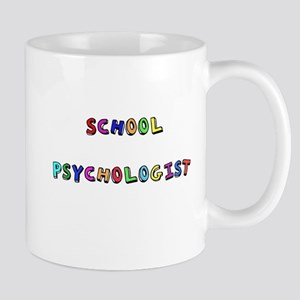 SCHOOL PSYCHOLO lower Mugs