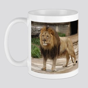 Lion At Attention Mug