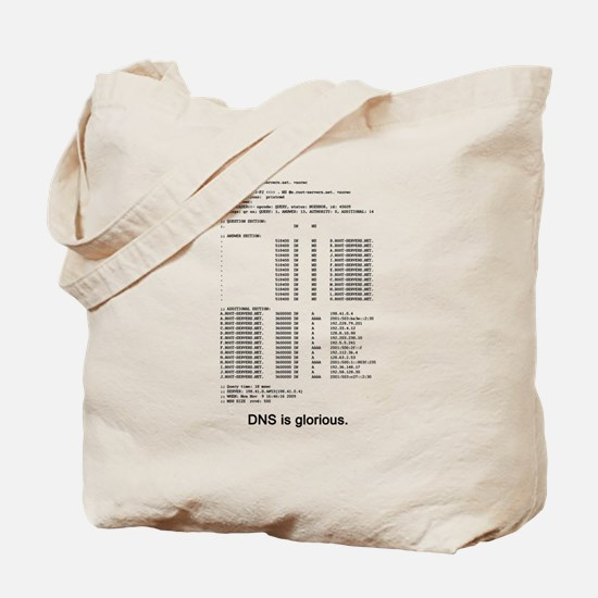 DNS is glorious Tote Bag