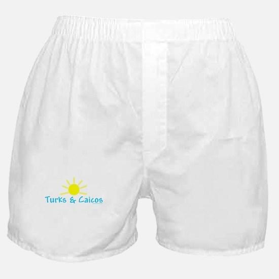 Turks & Caicos Sun - Boxer Shorts