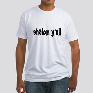 Shalom Y'All Jewish Fitted T-Shirt