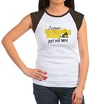 Instant Snowmobiling Buddy Women's Cap Sleeve T-Sh