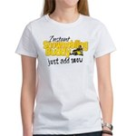 Instant Snowmobiling Buddy Women's T-Shirt