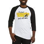Instant Snowmobiling Buddy Baseball Jersey