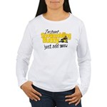 Instant Snowmobiling Buddy Women's Long Sleeve T-S
