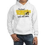 Instant Snowmobiling Buddy Hooded Sweatshirt