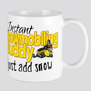 Instant Snowmobiling Buddy Mug