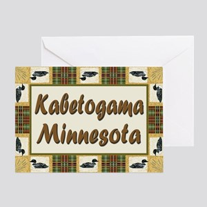 Kabetogama Loon Greeting Card