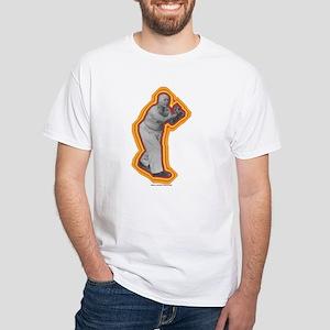 Budha's Palm White T-Shirt