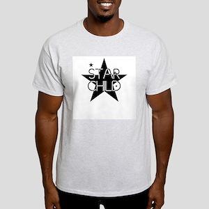Star Child Ash Grey T-Shirt