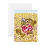 """Bailey's """"SPECIAL 2 ME"""" Greeting Card"""