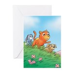 Cuddle Bunch Greeting Cards (Pk of 10)