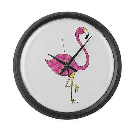 flamingo Large Wall Clock