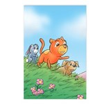 Cuddle Bunch Postcards (Package of 8)
