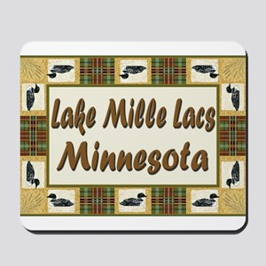 Mille Lacs Loon Mousepad
