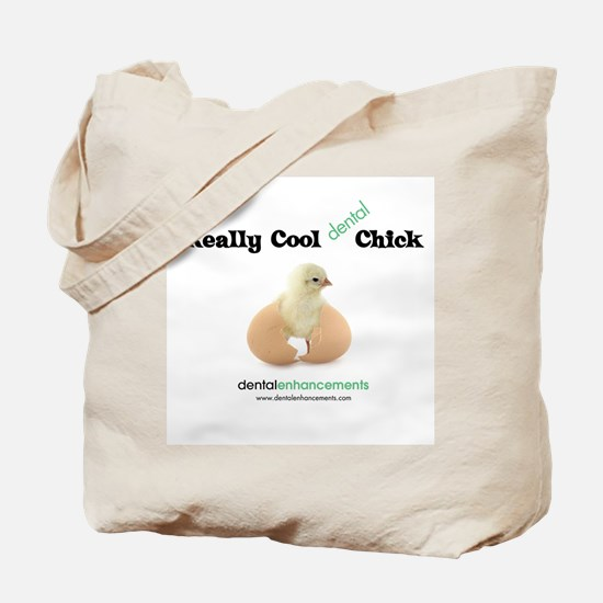 Cute Dental hygienists chick Tote Bag