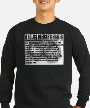 A POLICE OFFICER'S PRAYER T