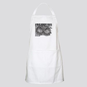 A POLICE OFFICER'S PRAYER Apron