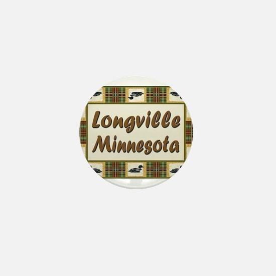Longville Loon Mini Button