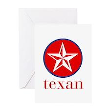 texan Greeting Card