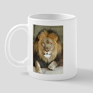African Lion 3 Mug