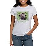 Keeshond Puppy Women's Classic White T-Shirt