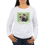 Keeshond Puppy Women's Long Sleeve T-Shirt