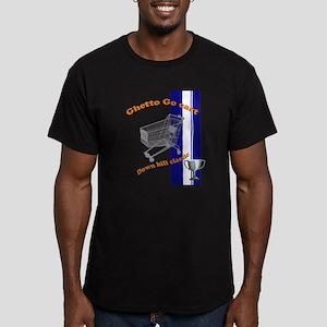 ghetto Go cart Men's Fitted T-Shirt (dark)