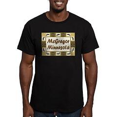McGregor Loon Men's Fitted T-Shirt (dark)