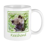 Keeshond Puppy 11 oz Ceramic Mug