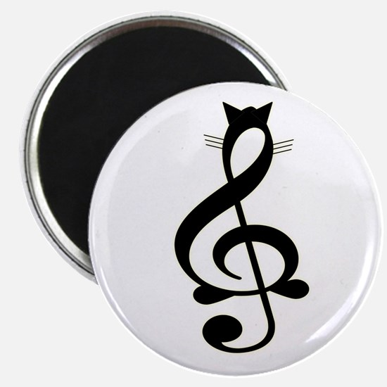 Jazz Cat Magnet