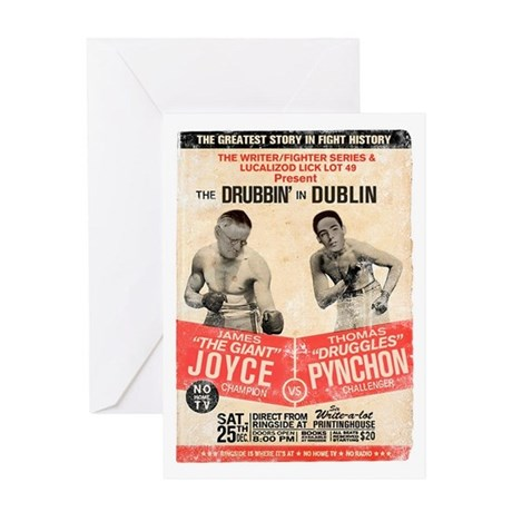 Joyce/Pynchon - Greeting Card