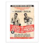 Joyce and Pynchon - Small Poster