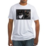 Nite&Bell Kitten Fitted T-Shirt