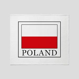 Poland Throw Blanket