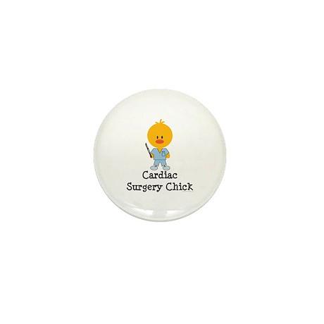 Cardiac Surgery Chick Mini Button (100 pack)