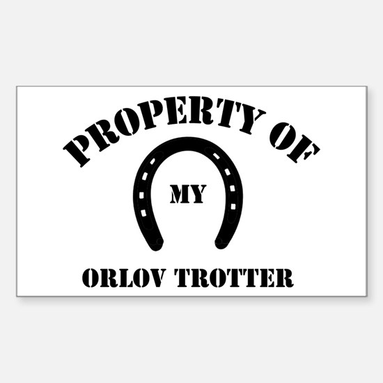 My Orlov Trotter Rectangle Decal