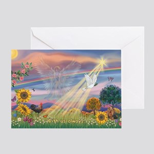 With us always Greeting Card