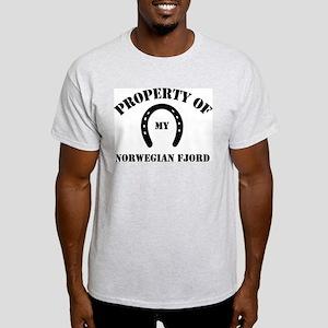 My Norwegian Fjords Ash Grey T-Shirt