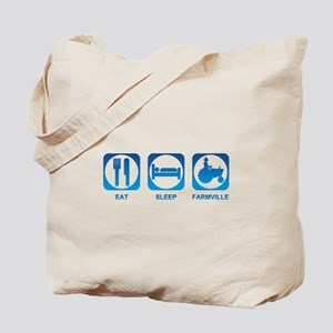 Eat Sleep FarmVille Tote Bag