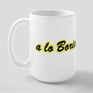 a lo Boricua Large Mug