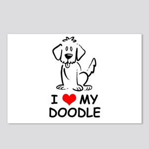I Love My Doodle Postcards (Package of 8)
