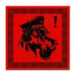 Scottish Terrier Revolution Icon Tile Coaster