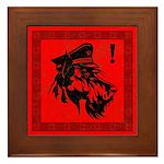 Scottish Terrier Revolution! icon Framed Tile