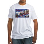 Greetings from Duluth Fitted T-Shirt
