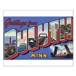 Greetings from Duluth Small Poster
